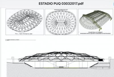 Magallanes podría contar con el primer estadio techado de